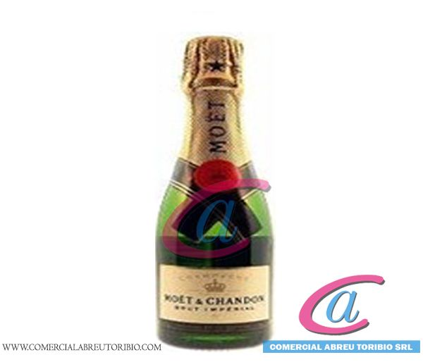 CHAMPAGNE MOET & CHANDON BRUT IMPERIAL PUNTO ROJO 24/200 ml (MINIATURA)