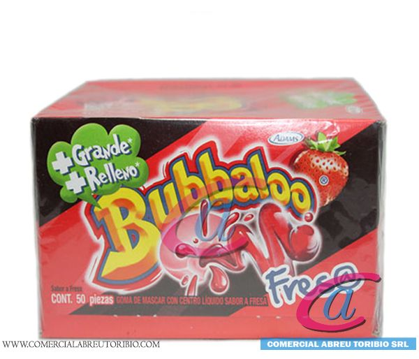 CHICLETS BUBBALOO FRESA 32/60