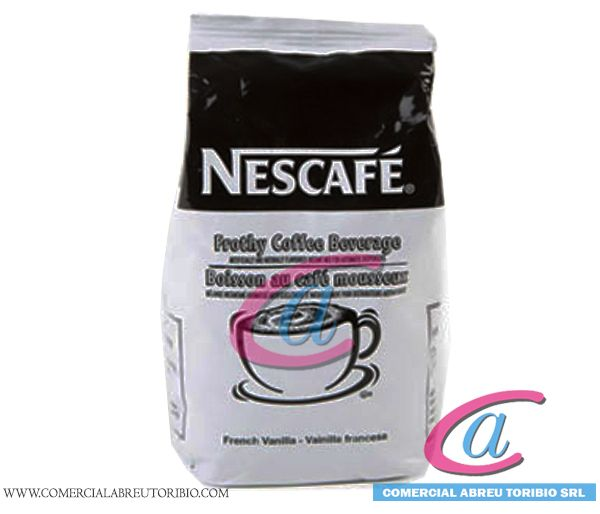 NESCAFE FRENCH VANILLA POWDER 6 x 2 lbs