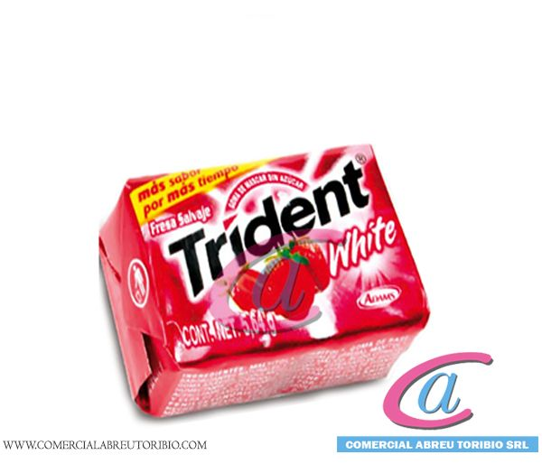 CHICLETS TRIDENT FRESA 4´S   40 /40
