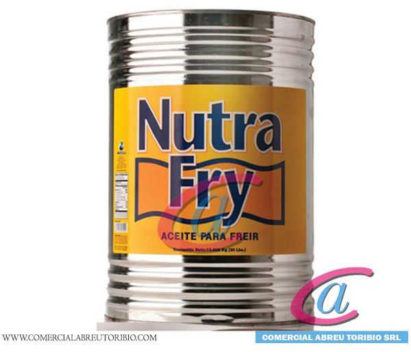 ACEITE NUTRA FRY LATAS 30 lbs