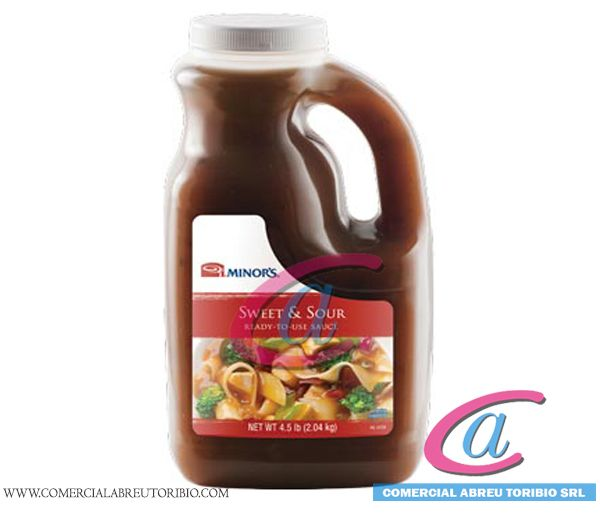 SALSA AGRIDULCE MINOR´S   6/0.5 gal (NESTLE)