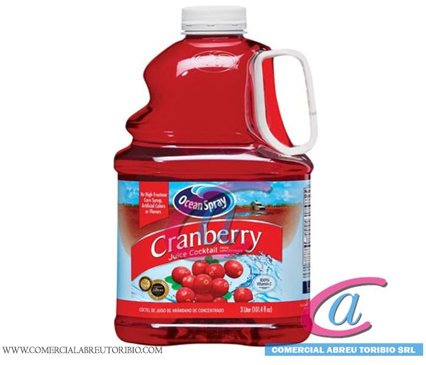 JUGO CRANBERRY OCEAN SPRAY  6/ 3 Lit (101.3 oz)