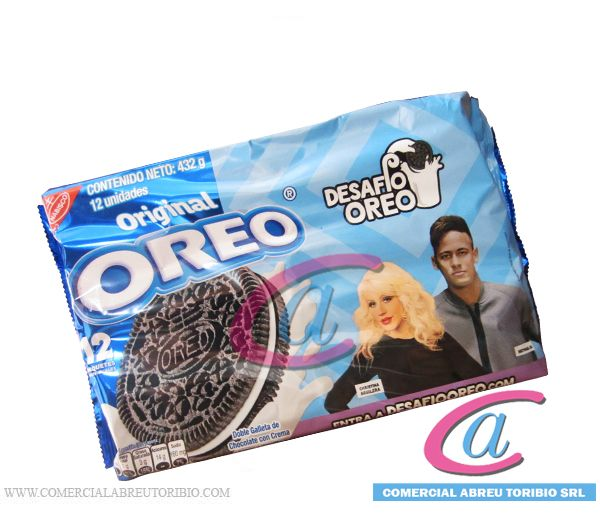 GALLETAS OREO CHOCOLATE ORIGINAL (AZUL) 12/12 unid