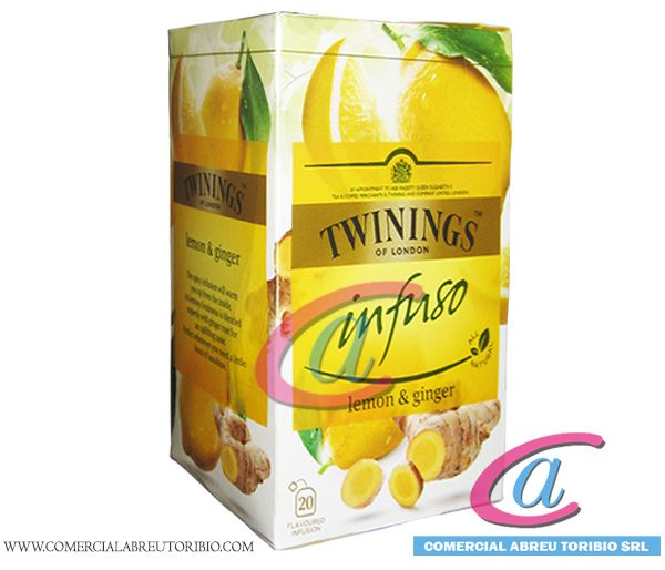 TE TWININGS LIMON Y JENGIBRE 4/20 inf.