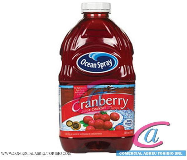 JUGO CRANBERRY OCEAN SPRAY 8/64 OZ